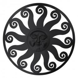 Dekoracja Ścienna Metalowa Słońce A Clayre & Eef