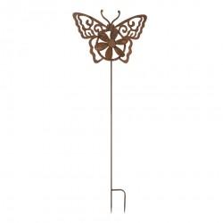 Dekoracja Ogrodowa Do Wbicia w Ziemię Motyl