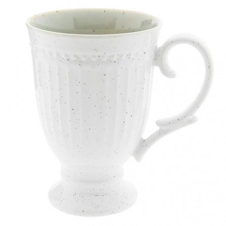 Kubki Prowansalskie Porcelanowe Białe 6szt.