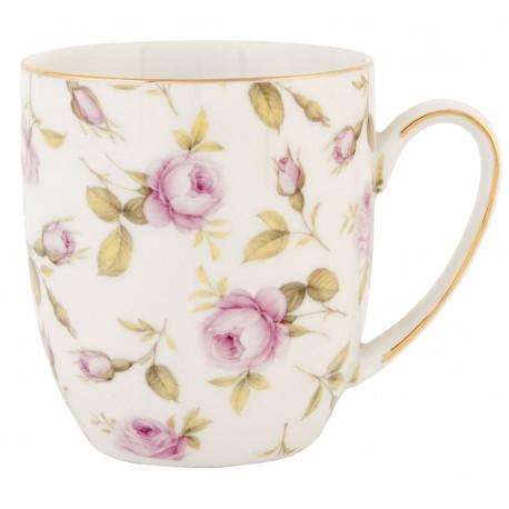 Zestaw porcelanowych kubków zdobionych kwiatami to sposób na wyrażenie zamiłowania do natury każdego dnia!