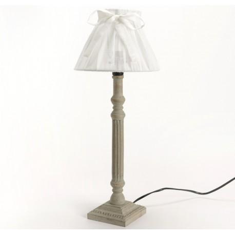 Lampa w Stylu Prowansalskim Szara 1