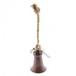 Dzwonek Ozdobny Bordowy B