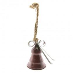 Dzwonek Ozdobny Bordowy A
