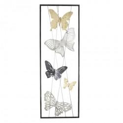 Dekoracja Ścienna Metalowa Z Motylami D