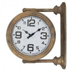 Zegar Ścienny Dwustronny Industrialny A