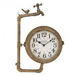 Zegar Ścienny Dwustronny Industrialny B
