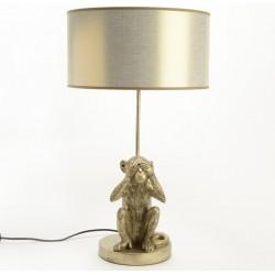 Lampa Stołowa Z Małpą A