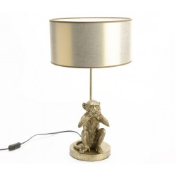 Lampa Stołowa Z Małpą C