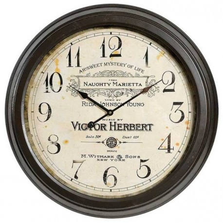 Retro Zegar Victor Herbert
