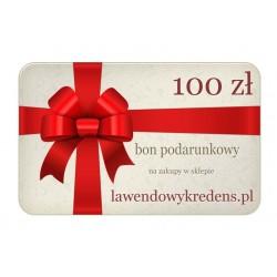Bon podarunkowy o wartości 100 zł