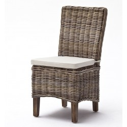Krzesła Rattanowe z Poduszkami Numi 2szt.