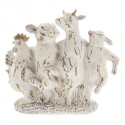 Figurka Ozdobna Prowansalska Zwierzęta B
