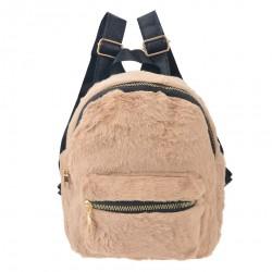 Plecak Dla Dziewczynki Beżowy