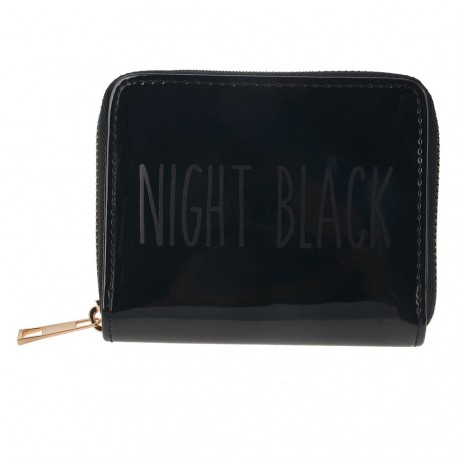 Czarny Portfel Night Black
