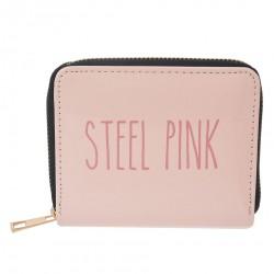Różowy Portfel Steel Pink