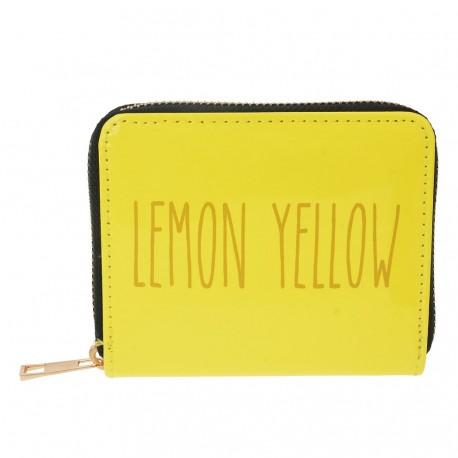 Żółty Portfel Lemon Yellow