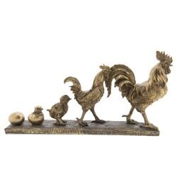 Figurka Ozdobna w Stylu Prowansalskim Kogut