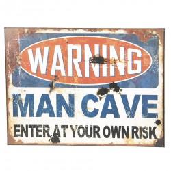Taliczka Metalowa Vintage Man Cave