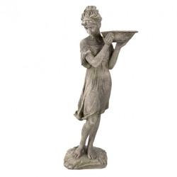 Figura Kobiety z Wanienką Dla Ptaków