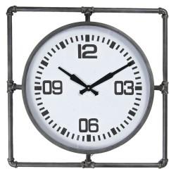 Zegar w Stylu Industrialnym Kwadrat