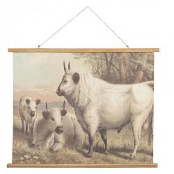 Obraz Vintage z krowami