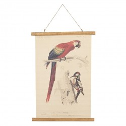Obraz Vintage z Ptakami