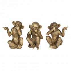Figurki Ozdobne Małpki
