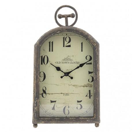 Postarzany Zegar w Stylu Prowansalskim