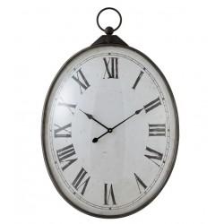 Duży Zegar Vintage Wypukły