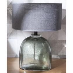Szklana Lampa Stołowa Przezroczysta A