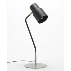 Lampa Biurkowa z Szarą Podstawą