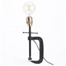 Lampka Biurkowa Industrialna Przykręcana Do Blatu
