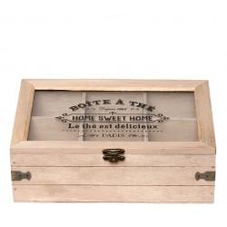 Drewniane Pudełko Na Herbatę A