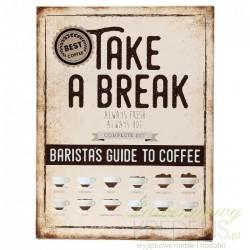 Obrazek Retro z Kawą