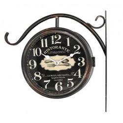 Dwustronny Zegar Dworcowy Ristorante