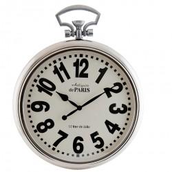 Zegar w Stylu Hampton Srebrny