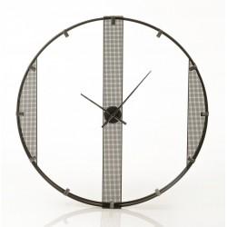 Duży Zegar Ażurowy z Metalu