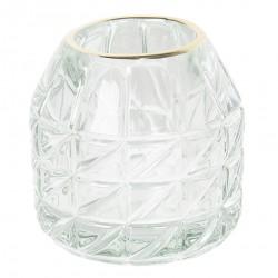 Szklany Świecznik Na Tealight D