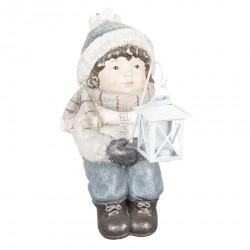 Figurka Świąteczna Dziewczynka z Lampionem A