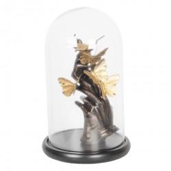 Dekoracja w Szklanym Kloszu Motyle E
