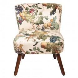 Fotel z Kwiatowym Wzorem B