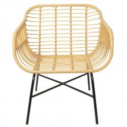 Krzesło Skandynawskie Rattanowe Santi A