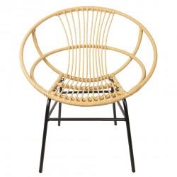 Krzesło Skandynawskie Rattanowe Santi B