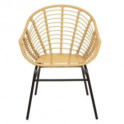 Krzesło Skandynawskie Rattanowe Santi C