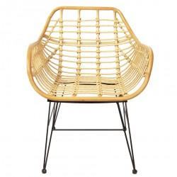 Krzesło Skandynawskie Rattanowe Santi D
