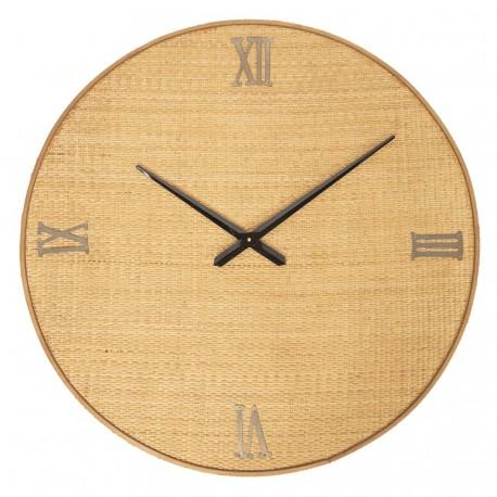 Duży Zegar Pleciony