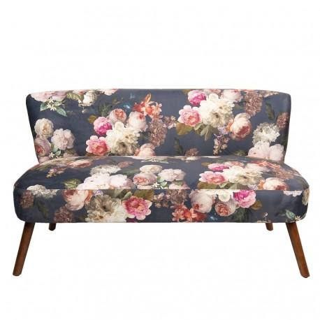Sofa z Kwiatowym Wzorem