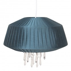 Lampa Sufitowa Plisowana Ciemna B Clayre & Eef