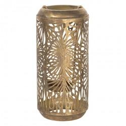 Ażurowy Lampion Metalowy B