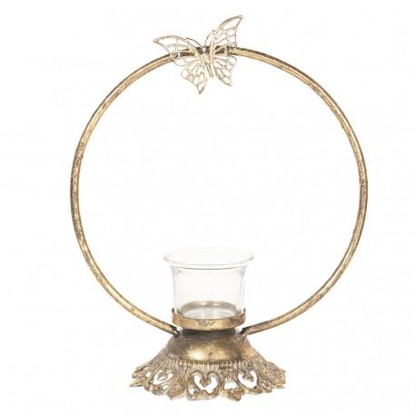 Świecznik Na Tealight z Motylem